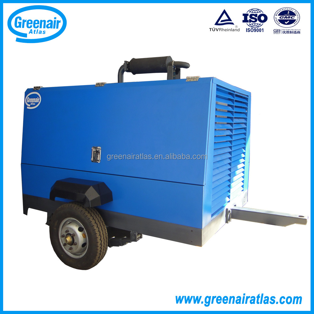 Atlas Copco China Diesel Screw Air Compressor Portable compressor