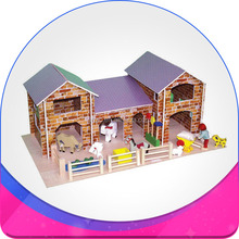 Chicken farm building is special house for your pet