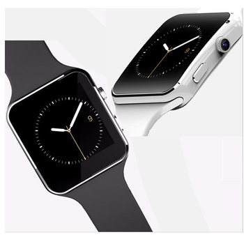 2019 New Bluetooth Smart Watch X6 electronics wearable devices For Apple sumsung huawei Phone With Camera TF SIM Card slot