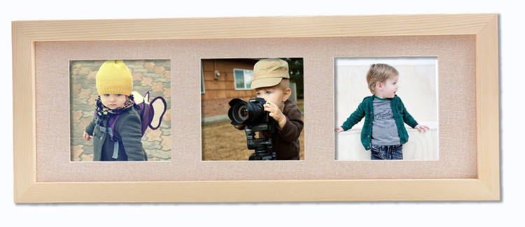 Handmade health and safety love baby photo frame