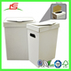 M103 customized white large cardboard recyclable trash bin stock blank with lid and cover