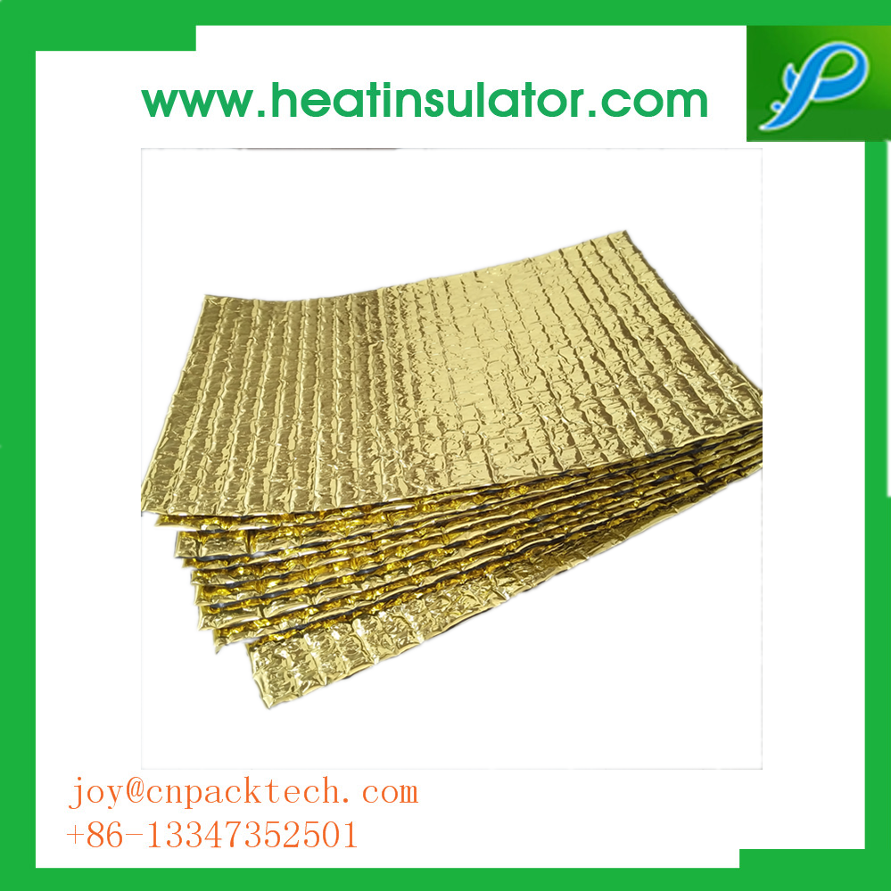 Energy-Saving Gold Foil Bubble Insulation For Celling and Wall