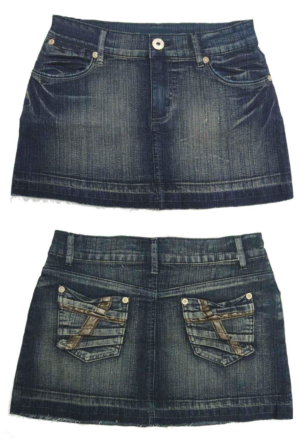 Ladies Stretch Denim Mini Skirt - Buy Skirt,Denim Skirt,Jean Skirt ...