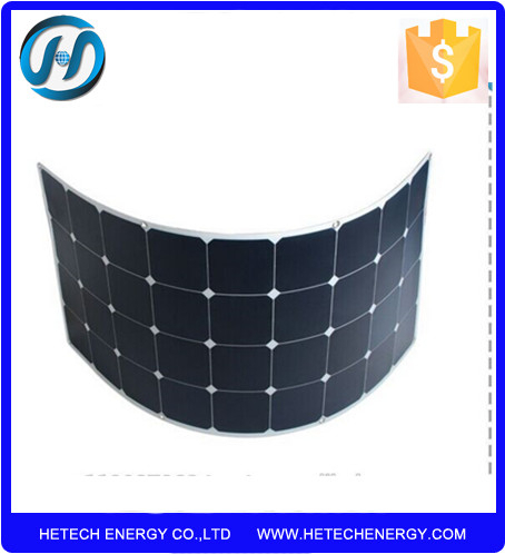 waterproof 110w semi marine flexible solar panel with high efficiency from China