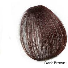 Halo Lady Beauty Клип В челке человеческие волосы Air Fringe челка невидимые бразильские светлые волосы части не Реми замена волос парик(Китай)