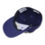 Curved brim unstructured 6 panel baseball hat