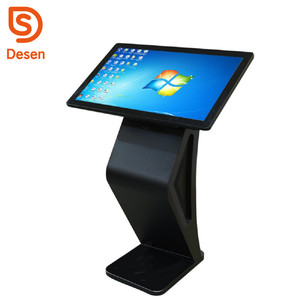 42 inch Indoor Free Standing 1920x1080 Tablet PC Touch Screen LCD Kiosk