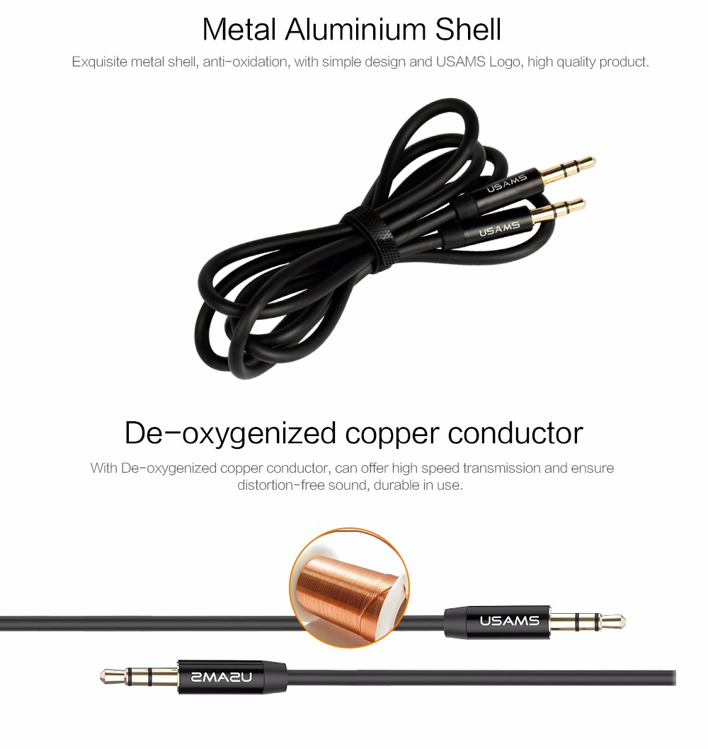 Aux Cable Car 3.5mm to 3.5mm Jack Audio Cable Male to Male (7)