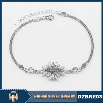 China Factory Price Solid Silver 925 Italian Silver Bracelets Buy