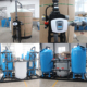 Quartz Sand Filter Water Softener MS/FRP tank for water treatment