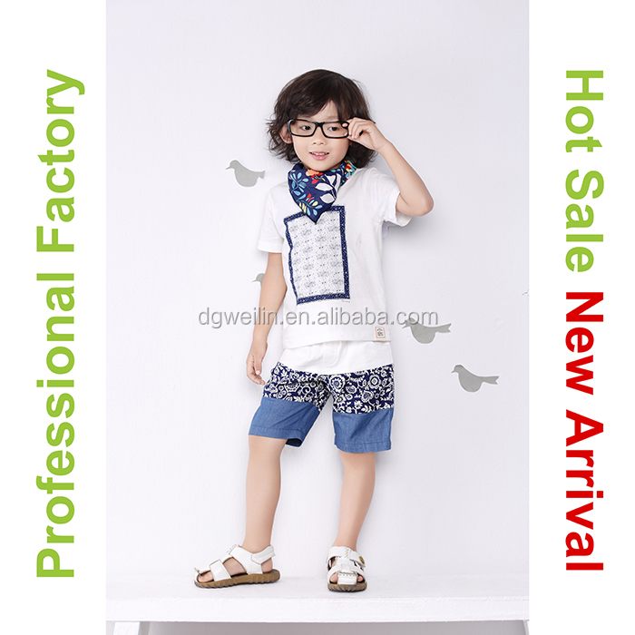 New design wholesale children clothes made in korea
