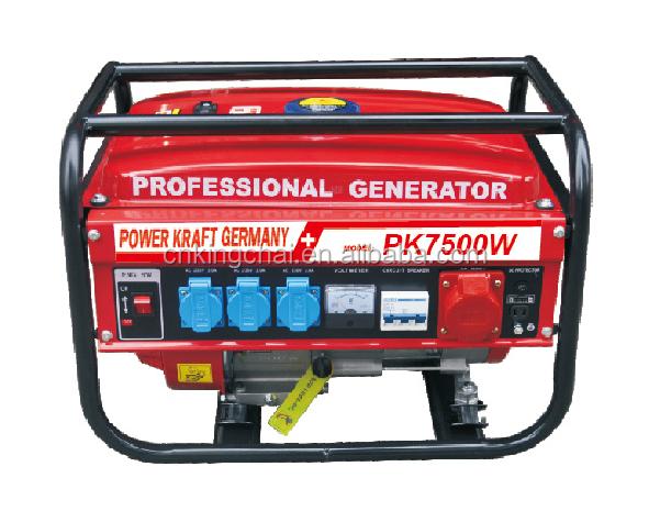 2016 Professional Generator 2kw 2.5kw 3kw 3 Phase Gasoline Generator