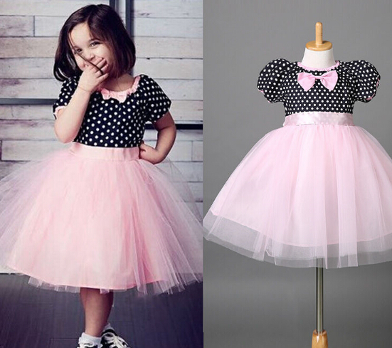 New Fashion Girls font b Fancy b font font b Dress b font Costume Kids Child