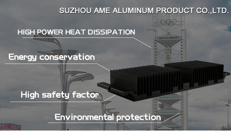 Aluminum Led Profile Extrusion Aluminum Led Profile High Power Led Heat Sink