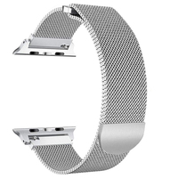 Magnetic Strap for Apple Watch Milanese Series 4 3 2 1 Band 42mm 38mm 44mm 40mm, for iWatch Bands Milanese Loop