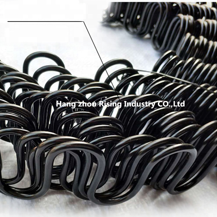 Customized Coil Inner Big Loop Zigzag Sofa Spring In Springs Furniture Hardware High Quality Torsion Wave Spring For Mattress