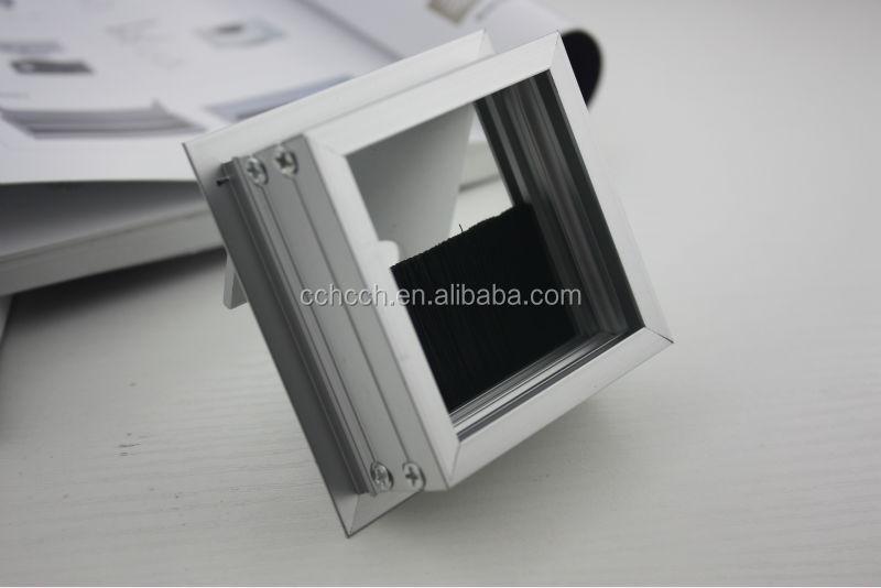 Rectangular Cable Access Computer Hole Cover/aluminium Alloy ...