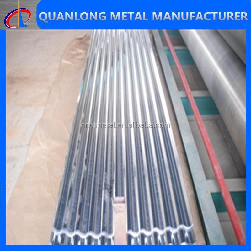height wave galvanized corrugated sheet for house roof