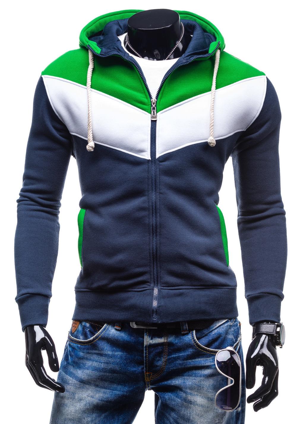 Navy Sweatshirts For Mens Fashion Ql