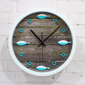 Customized 2016 New Bathroom Clock Radio Wall Mounted