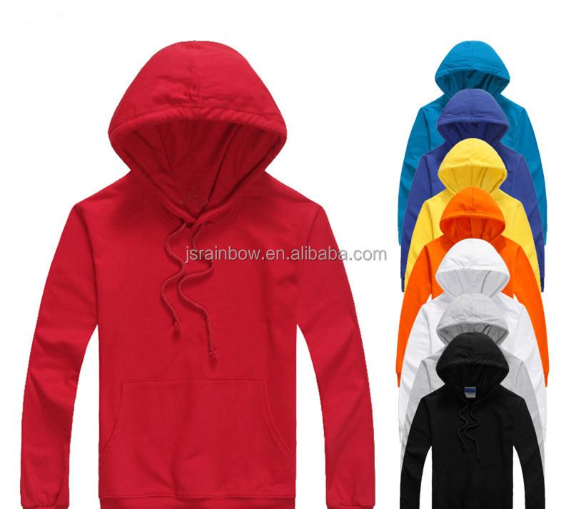 2017 Wholesale Men Pullover Plain Hoodies blank hoodies custom logo prited hoodies OEM