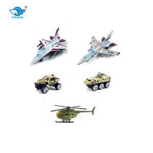 Wholesale die cast car modelcart military toys car play set for kids