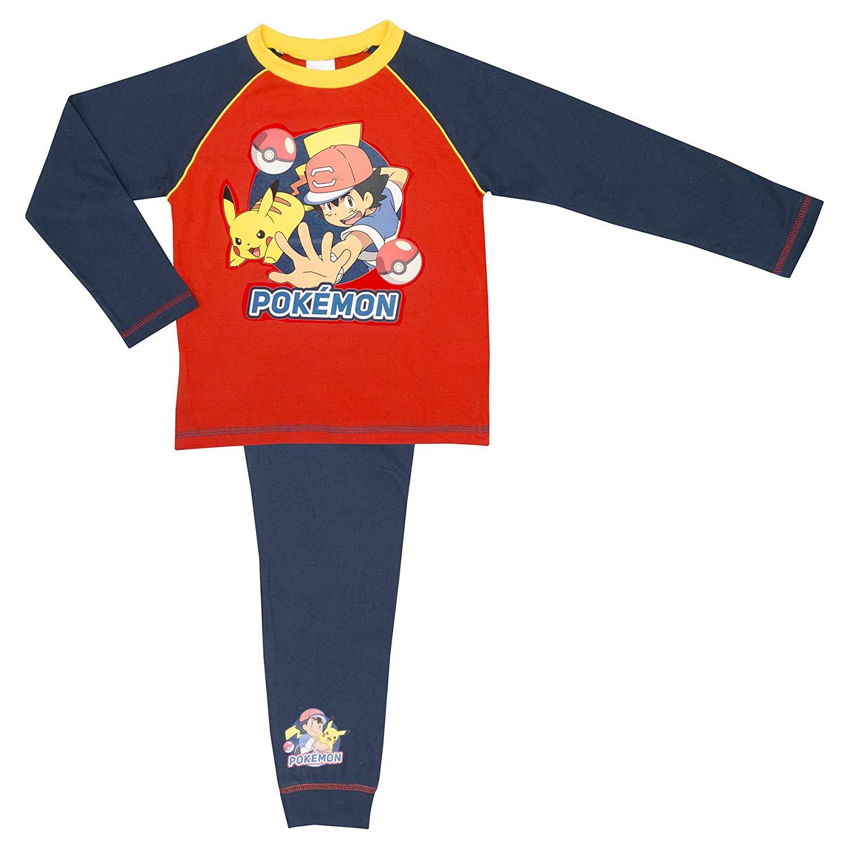 686602d9c Cartoon Character Products Boys Pokemon Pyjamas - Age 5-12 Years Various  Designs