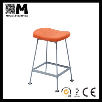 Mordern Design Metal Frame Fabric Seat Counter Bar Stools