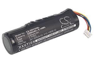 Battery2go - 1 year warranty - 3.7V Battery For Garmin Alpha, DC50 Dog Tracking Collar