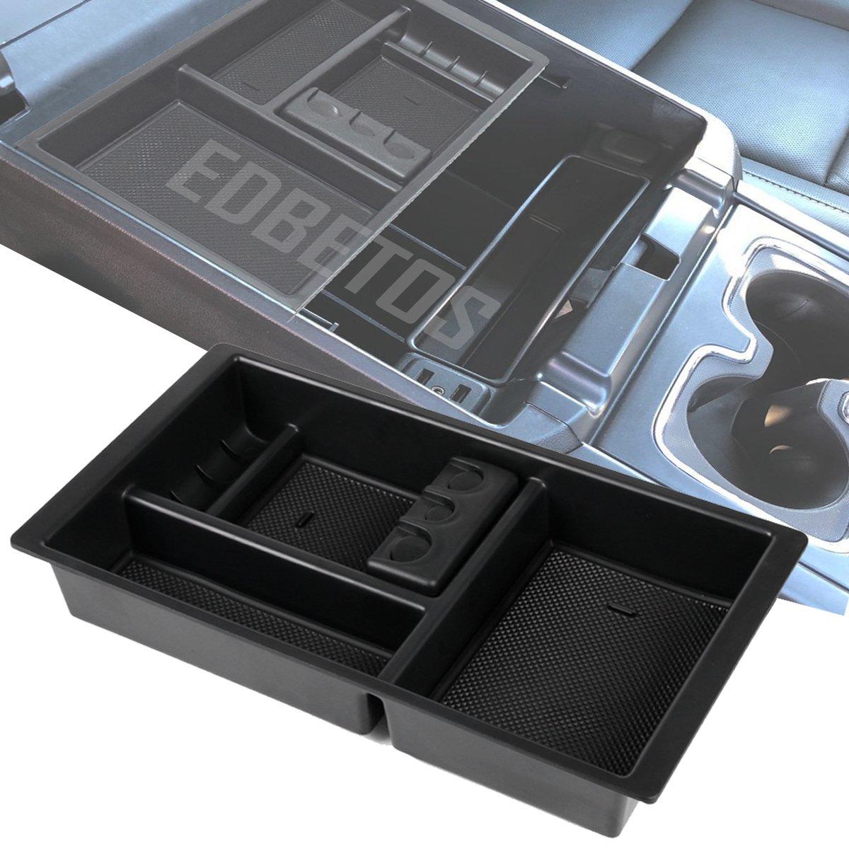 EDBETOS Center Console Organizer Tray for Chevy Silverado GMC Sierra Yukon (2015-2018)-GM Vehicles Accessories Replaces 22817343 (Full Console w/Bucket Seats ONLY)