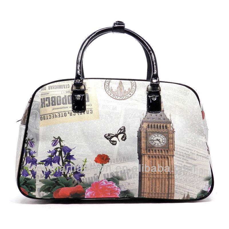2017 Printed Weekender Overnight Lady Designer Handbags - Buy ...