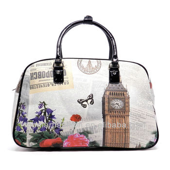 2017 Printed Weekender Overnight Lady Designer Handbags