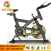 China Factory Professional Spinning bike Gym Equipment Indoor cycling Training Fitness Exercise Bike with 13/15/18 kg freewheel