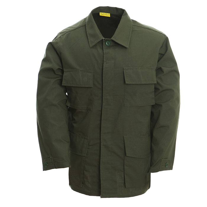 Olive Military Uniform Green BDU Set