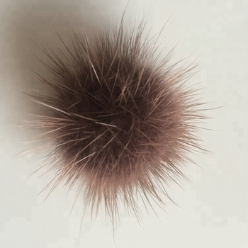 Mink fur accessory balls  mink hair balls for  DIY accessories clothing pendants