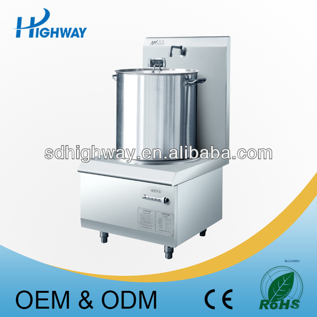 2015 Stainless Steel Induction Heating 100L Commercial Soup Kitchen  Equipment