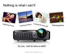 Multimedia 3D DLP Short Throw Projector XGA Resolution 4500 Lumens 100 inch image at 1.36m 1080P Projector