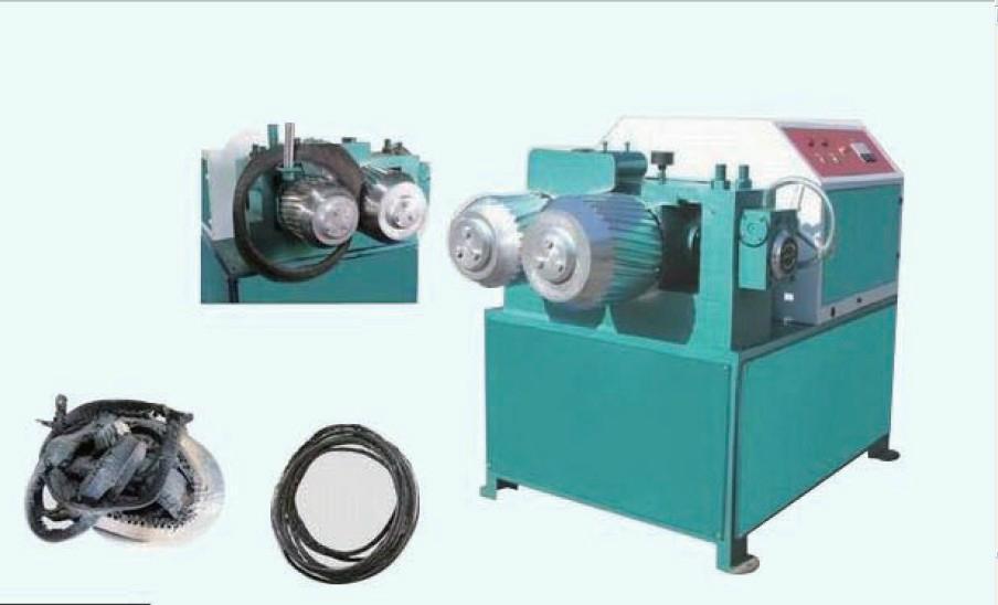 New Design Machine To Cut Tire Into Small Rubber Granules / Waste ...
