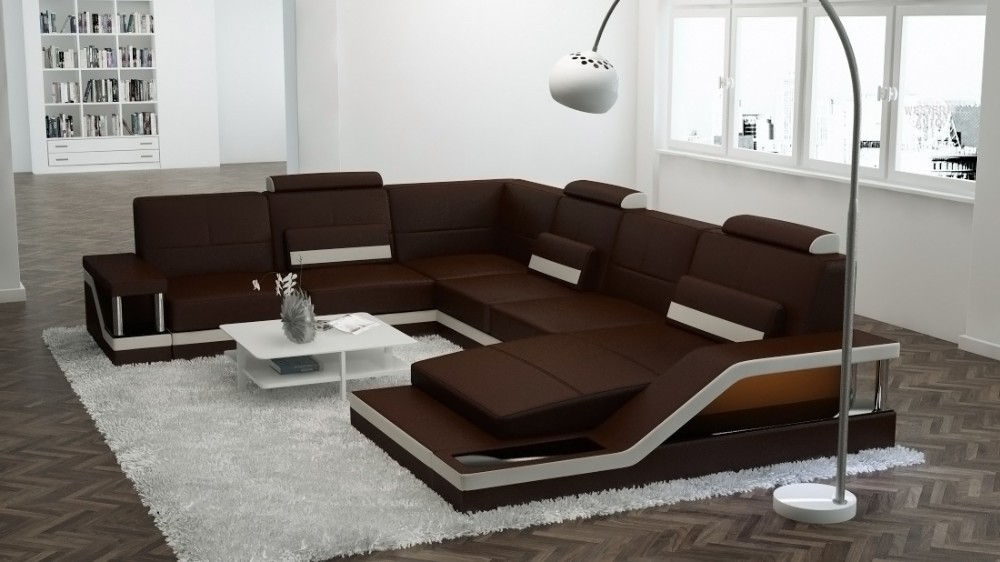 Designer couch leder  Leder Sofa, Leder Sofa Suppliers and Manufacturers at Alibaba.com