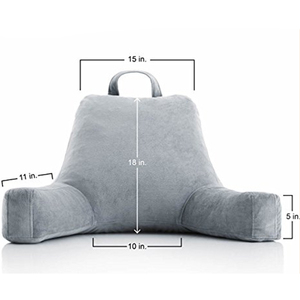 YINTEX Wholesale High Quality Relax TV Backrest Pillow Bed Chair Pillow Reading Pillow