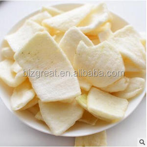 Low temperature vacuum frying onion crisps with good taste and good quality for sale