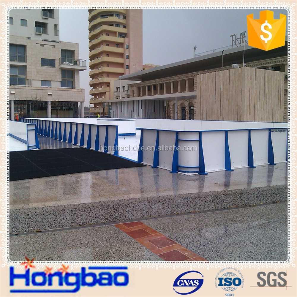 uhmwpe shooting pad practice hockey slide board uhmwpe shooting