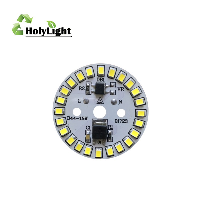 high voltage 220V ac IC integrated driverless9W dimmable LED pcb chips