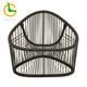 Factory wholesale customized new design high quality bamboo wicker outdoor waterproof furniture