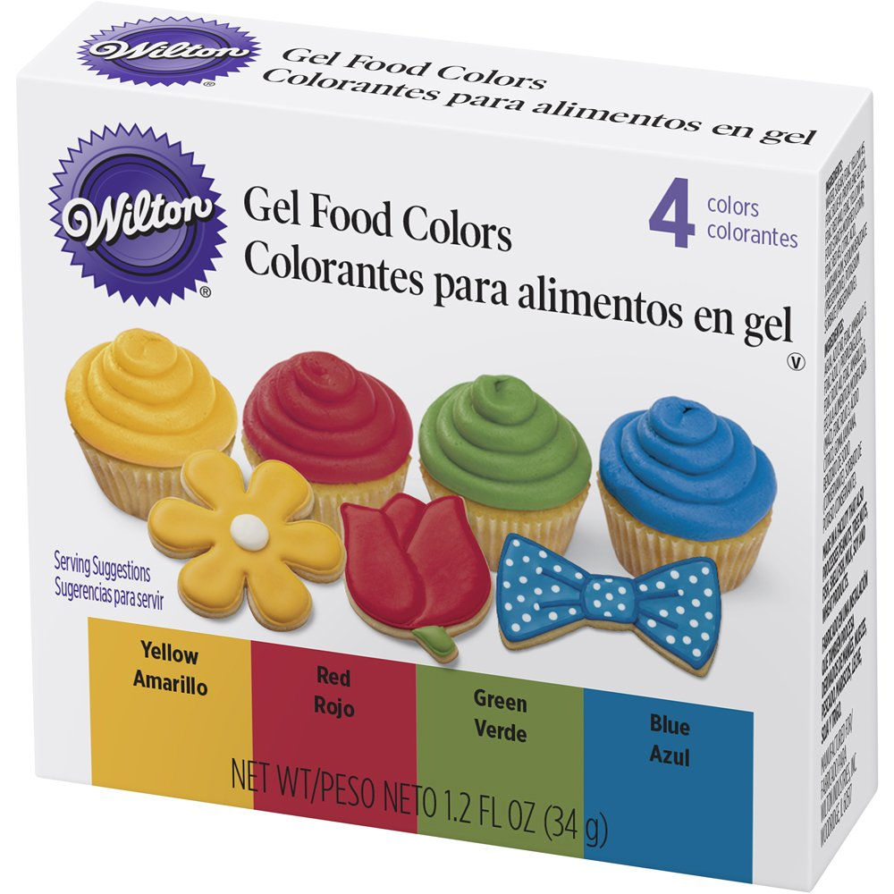 Cheap silver icing color find silver icing color deals on line at wilton 601 5581 4 piece primary color gel icing set nvjuhfo Images