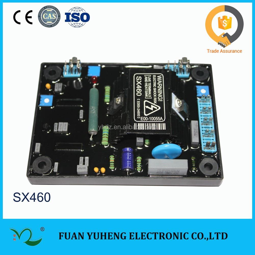 Generator Circuit Diagram 3 Phase AVR Automatic Voltage Regulator SX460