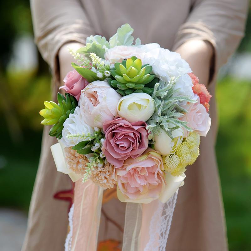 online kaufen gro handel sukkulenten hochzeit bouquet aus china sukkulenten hochzeit bouquet. Black Bedroom Furniture Sets. Home Design Ideas
