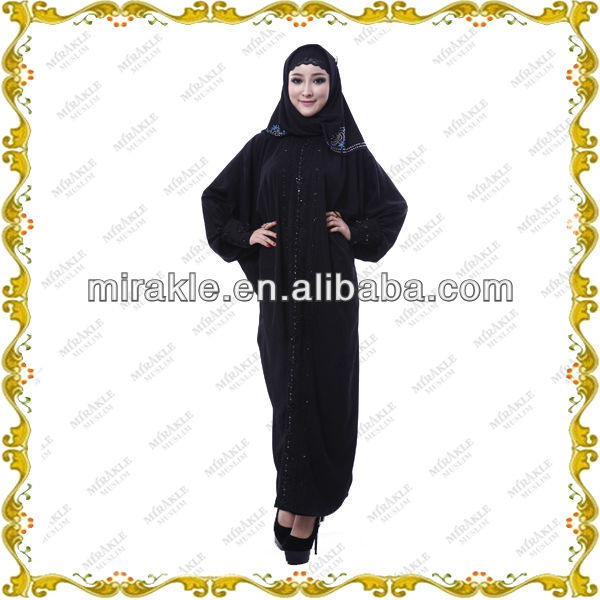 MF21387 ladies turkish coat style abayas.