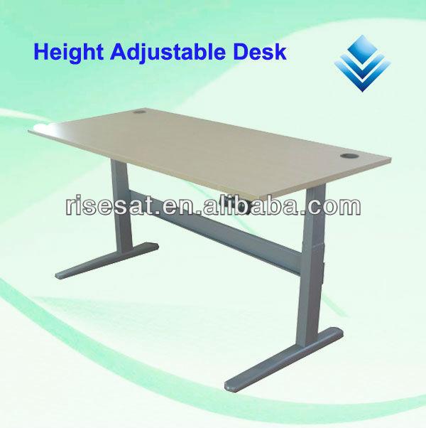m 233 tal ergonomique hauteur r 233 glable pc bureau 201 lectrique bureau r 233 glable en hauteur bureaux d