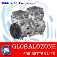 Oil free portable medical oxygen concentrator pump air compressor